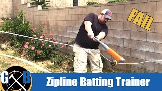 Make a DIY Baseball Swingline Trainer Batting Aid :: How To