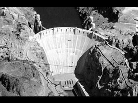 Строительство плотины Гувера