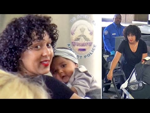 First Peek Of Tamera Mowry Housley's Baby Girl Ariah At LAX