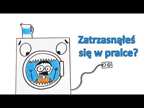 Co jeśli zatrzaśniesz się w pralce?