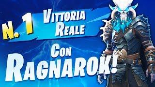 VITTORIA con RAGNAROK! Nuova skin 'FINALE' della Stagione 5! Fortnite Battle Royale ITA!