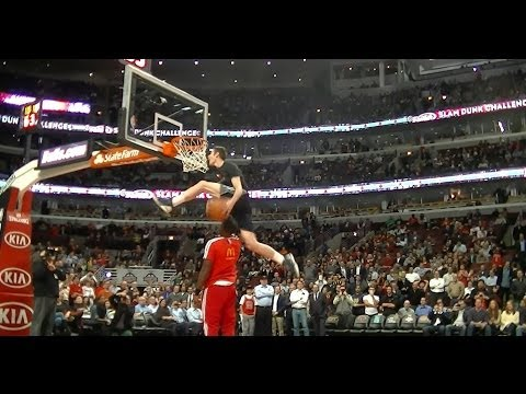 """TFB::Dunks:: 6'3"""" Jared Roth SHUTS DOWN the UNITED CENTER (Dubble Up)"""