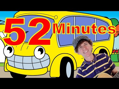 Wheels On The Bus And More   52 Minutes  Super Kids Song Collection with Matt