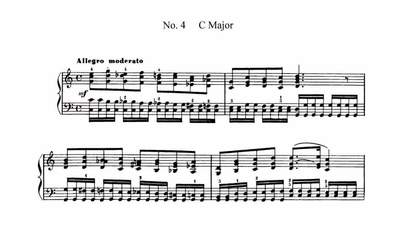 Etude in C Major, Op. 72, No. 4