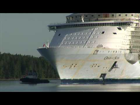 Oasis of the Seas: Sea Trials