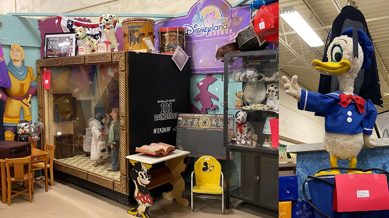 Disney Theme Park Props For Sale | 101 Dalmatians Movie Props & RARE Disneyland & Disney World Items