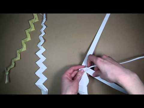 Palm folding: How to make a palm whip