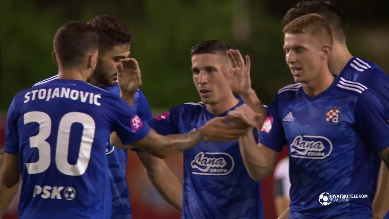 Хайдук Сплит  1-2  Динамо Загреб видео