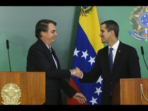 Bolsonaro se reúne com Juan Guaidó no Palácio do Planalto | Redação NT