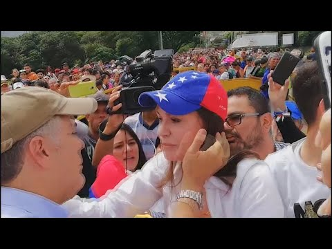 Duque promete a María Corina Machado defender la democracia venezolana