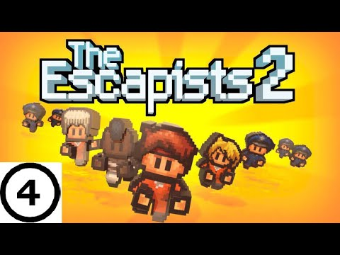 How to escape HMP Offshore | Part 4 of The Escapists 2 PS4 Edition Walkthrough