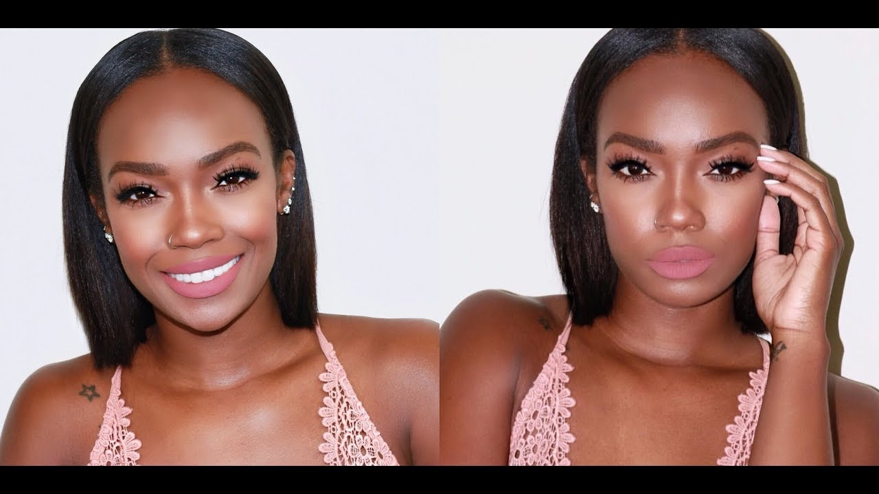 spring natural makeup tutorial using beauty blender | tamiastyles