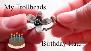Trollbeads Birthday Haul October 2018