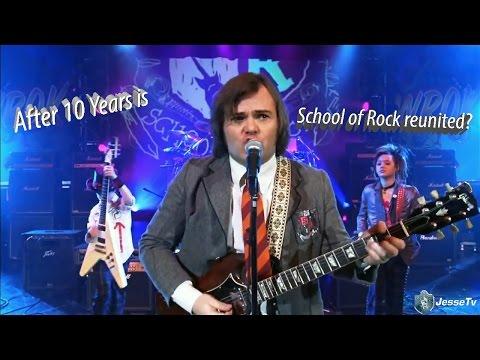 School Of Rock -Zach's Song ( 10 Years Reunion)[HD]