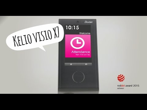 Bodet's Kelio Visio X7 Revolutionary Features