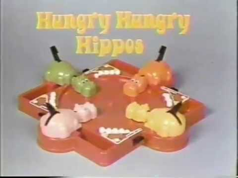 Hungry Hungry Hippos 1980s Commercial Youtube