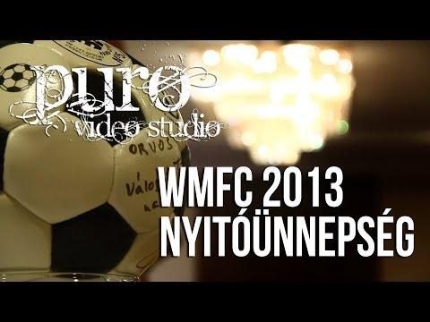 World Medical Football Championship 2013 - Nyitóünnepség