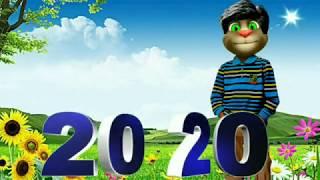 Happy New Year 2020 Funny Wishes Shayari Talking Tom Comedy BKD