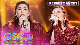 "Regine Velasquez-Alcasid belts out ""I Don't Want to Miss a Thing"" 