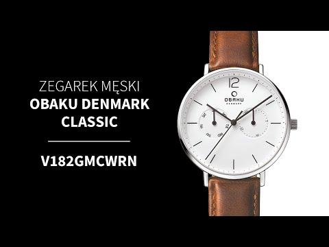 Zegarek Obaku Denmark Classic V182GMCWRN | Zegarownia.pl