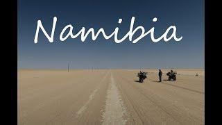 The Namibia Bike Trip - Road to Ruacana