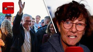 """Als Steinmeier Flutgebiet besucht, wird Helferin emotional: """"Politik hat versagt"""""""