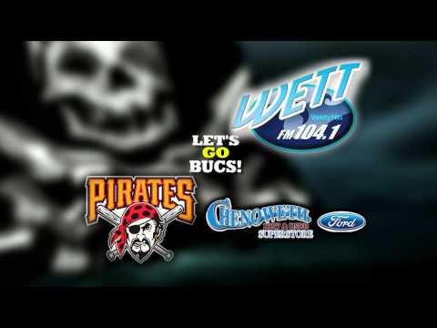Pittsburgh Pirates on WETT-FM 104.1 Neil Walker Promo