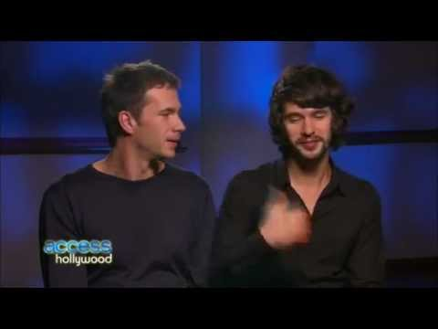 Funny   James D'Arcy and Ben Whishaw