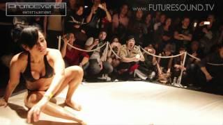 JAPAN Slow Motion BIKINI OIL GIRL WRESTLING - HD