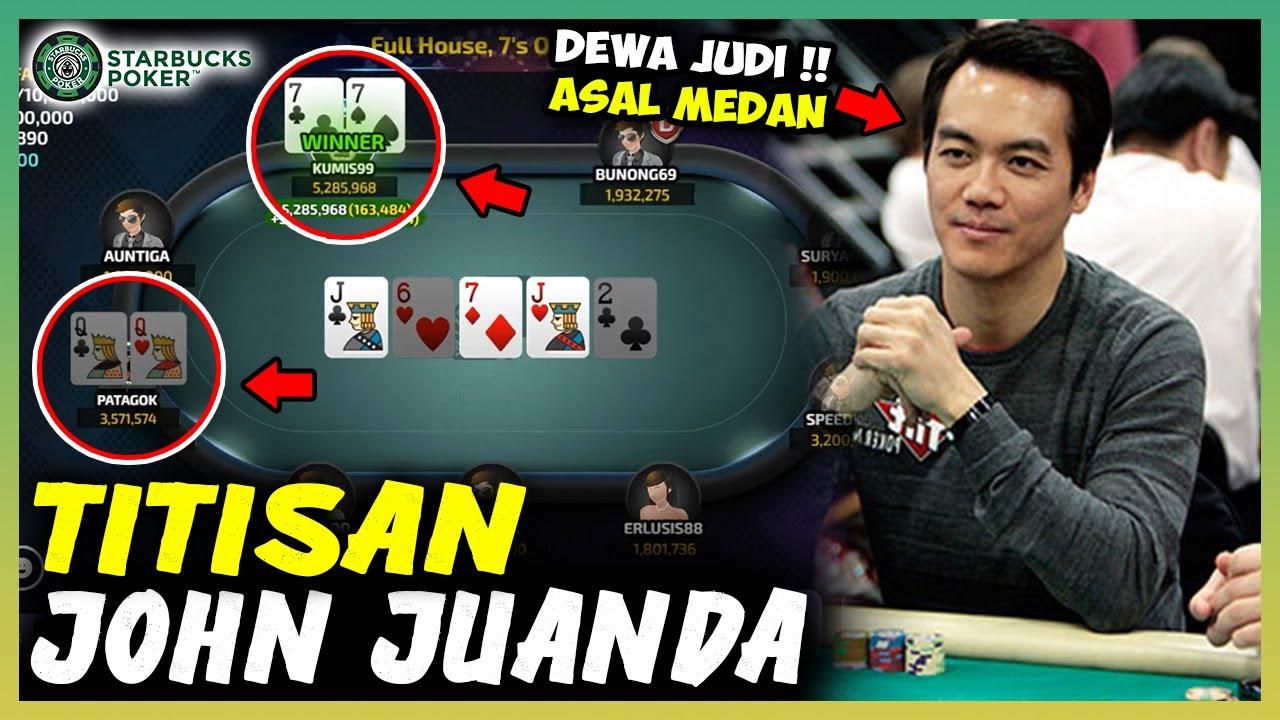 Si Kumis Meniru Cara Bluffing John Juanda di Poker Online !!!
