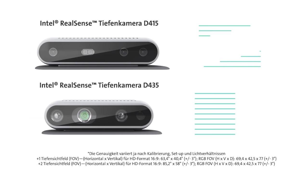 Intel RealSense - STEMMER IMAGING - Deutsch