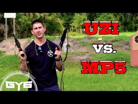 UZI vs MP5 - FULL AUTO