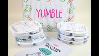Yumble April 2019 Meal Subscription Box UnboxingReview Coupon – Children Meal Subscription