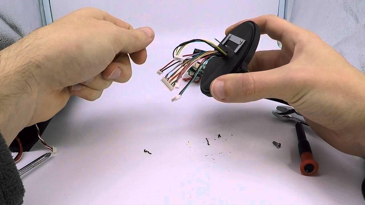 Anschlusskabel entfernen bei einer INSTAR IP Kamera IN
