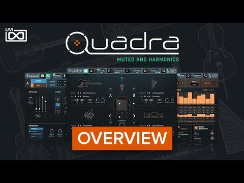 UVI Quadra: Muted and Harmonics |Overview