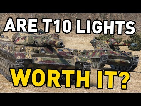 Are T10 Light Tanks Worth it in World of Tanks?