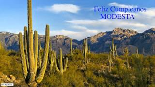 Modesta  Nature & Naturaleza - Happy Birthday