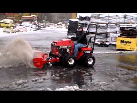 Steiner Tractor and RS350 Rotary Sweeper Available at LH Jones