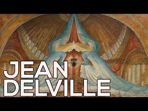 Jean Delville: A collection of 50 works (HD)