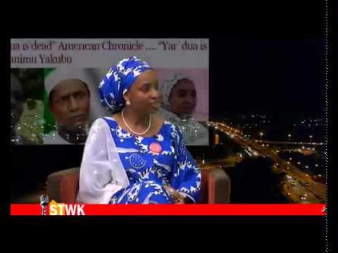 I was raised to speak up on serious issues   Hadiza Bala Usman on Straight Talk with Kadaria Ahmed
