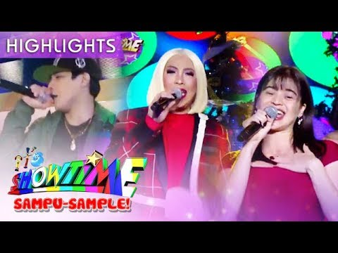 Vice, Anne and Kritiko perform the theme song of The Mall, The Merrier | It's Showtime