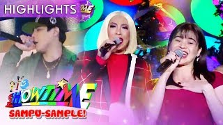 Vice Anne and Kritiko perform the theme song of The Mall The Merrier  It39s Showtime