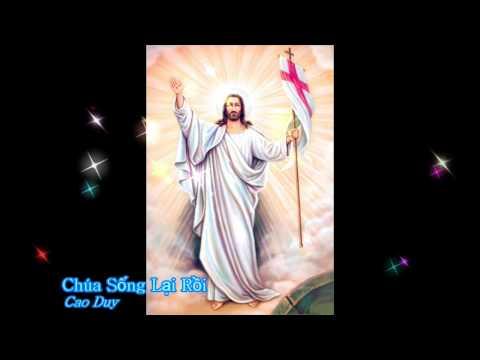 Chúa sống lại rồi - Cao Duy [Thánh ca]