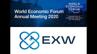 EXW Exchange Wallet - Stand at the World Economic Forum in Davos
