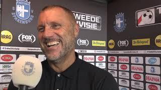 Interview met John de Wolf na Spakenburg - Urk | Spakenburg TV