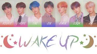 Download BTS (방탄소년단) - Wake Up Color Coded Lyrics