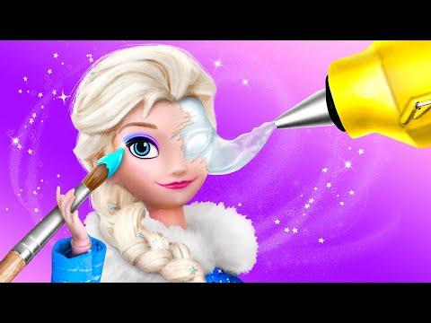 Elsa And Anna Hacks And Crafts / 9 Frozen DIYs