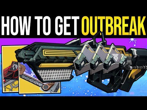 Destiny 2 | How to Get OUTBREAK PERFECTED! Full Exotic Quest Guide, Door Unlock & Exotic Pulse Rifle