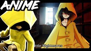 Скачать Little Nightmares ANIME Six Runaway Kid The Lady ART CHALLENGE