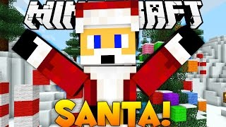 BRAND NEW Minecraft SANTA SAYS Minigame (Christmas Special)